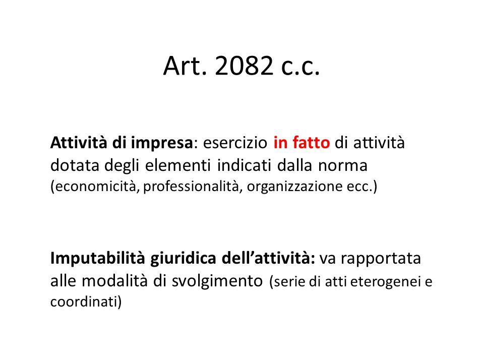 Art. 2082 c.c.