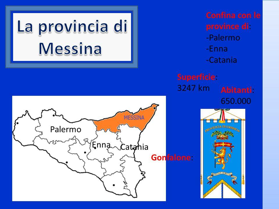 La provincia di Messina