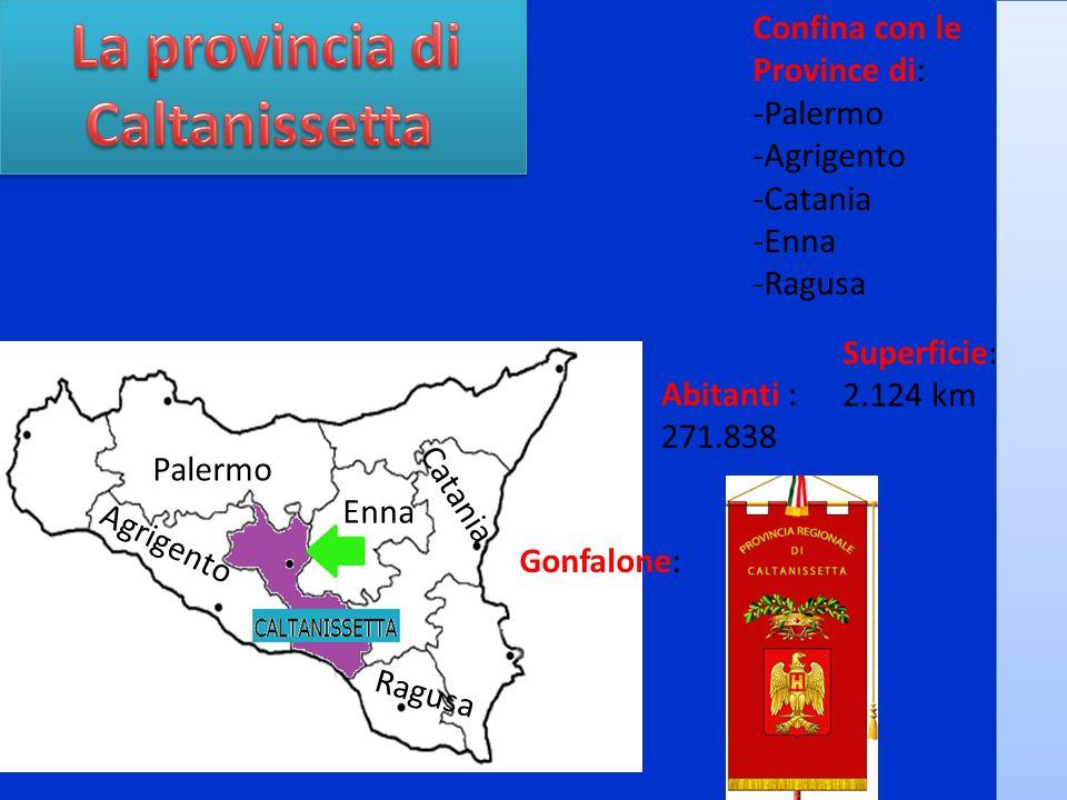 La provincia di Caltanissetta