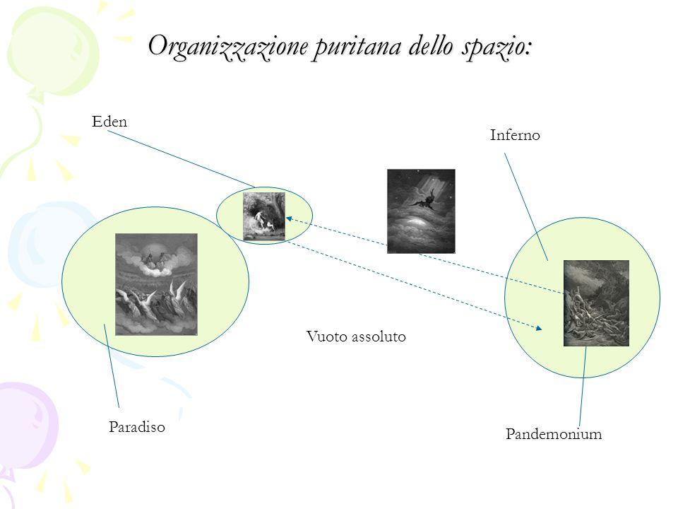 Organizzazione puritana dello spazio: