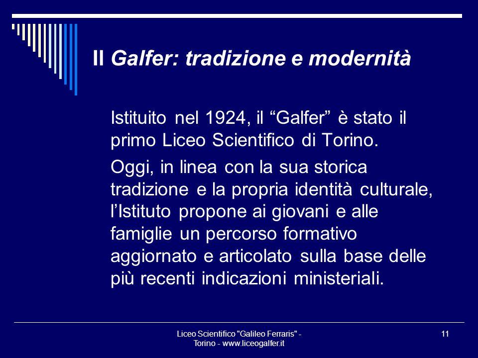 Il Galfer: tradizione e modernità