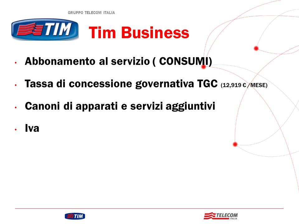 Tim Business Abbonamento al servizio ( CONSUMI)