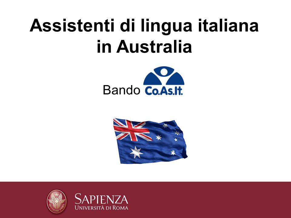 Assistenti di lingua italiana in Australia