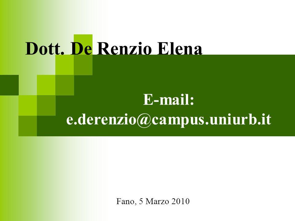 E-mail: e.derenzio@campus.uniurb.it