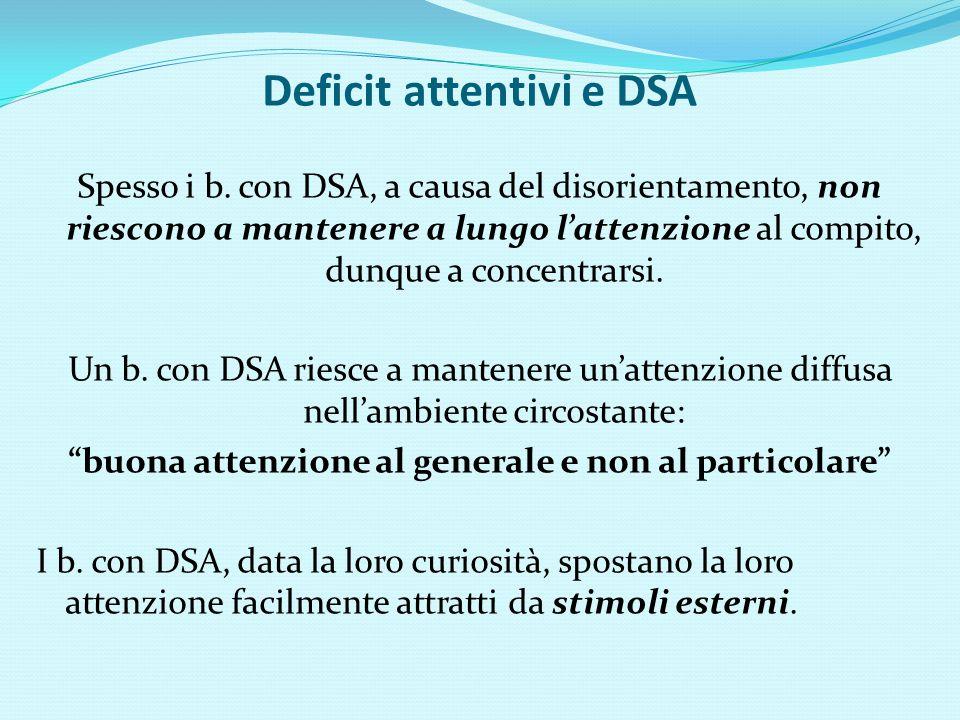 Deficit attentivi e DSA