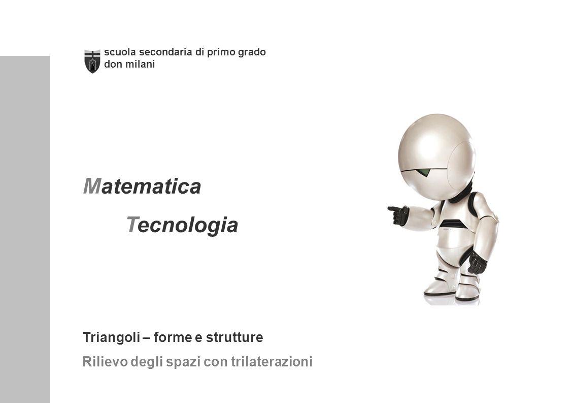 Matematica Tecnologia Triangoli – forme e strutture