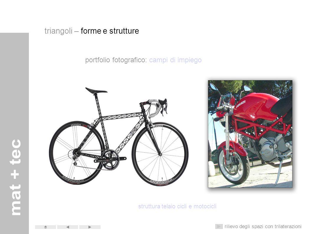 struttura telaio cicli e motocicli