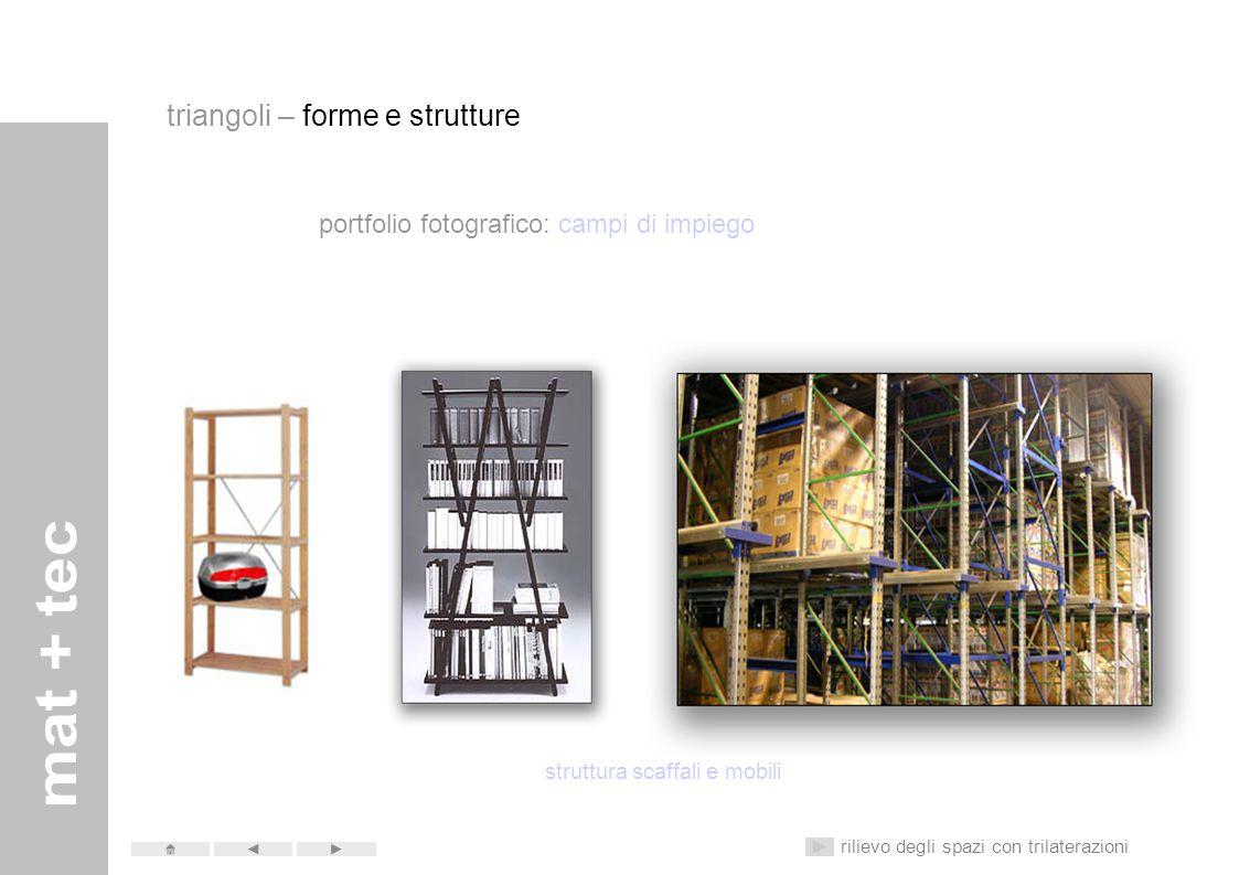 struttura scaffali e mobili