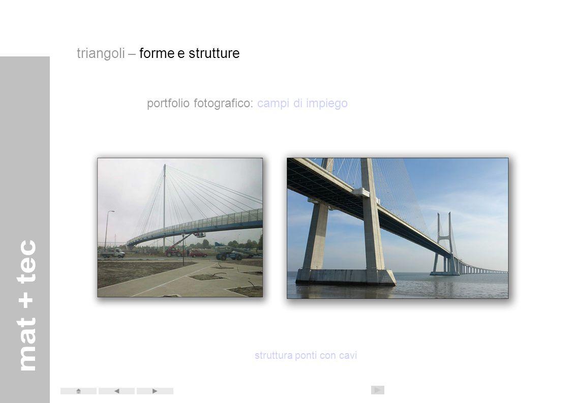 struttura ponti con cavi