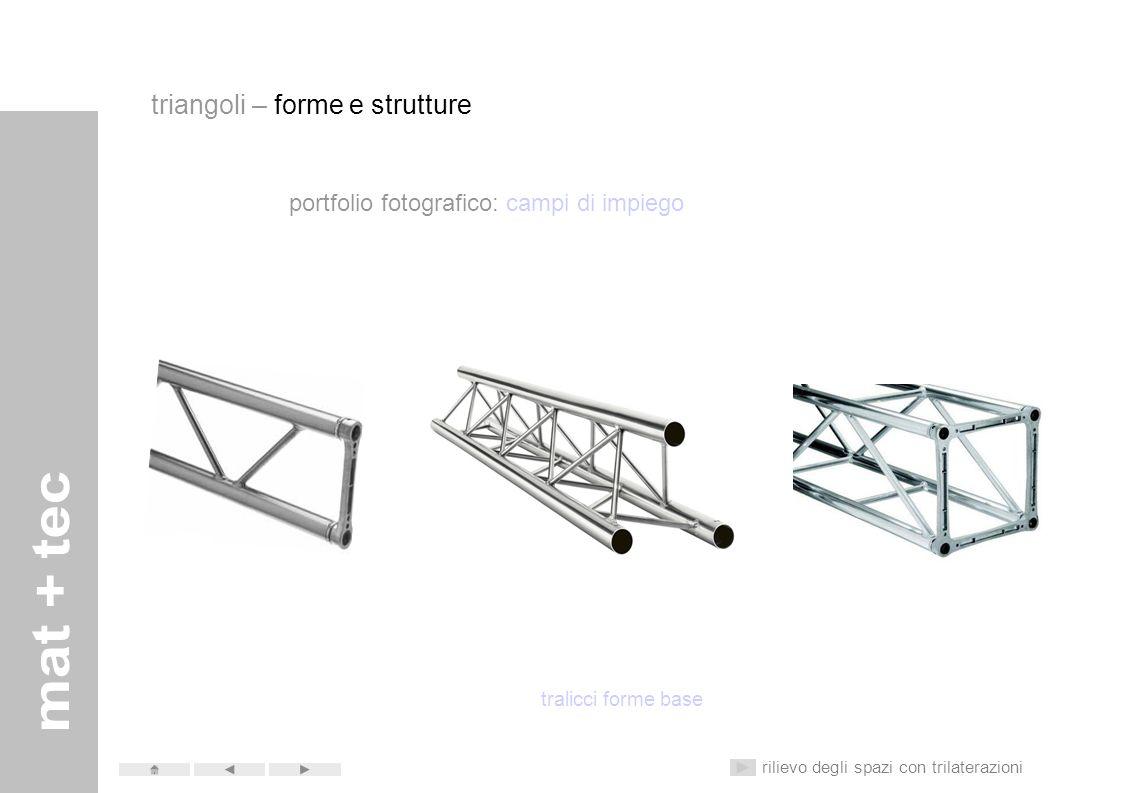 triangoli – forme e strutture