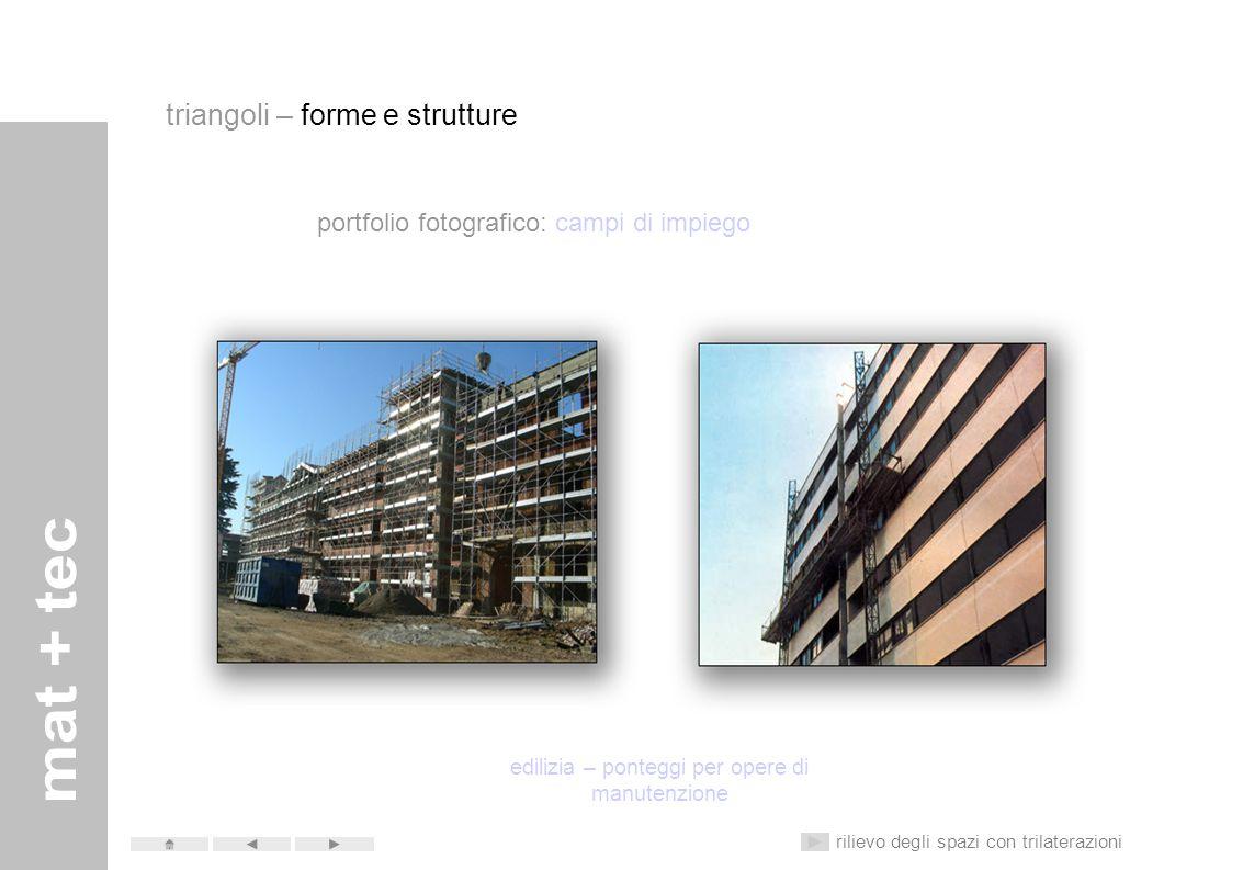edilizia – ponteggi per opere di manutenzione