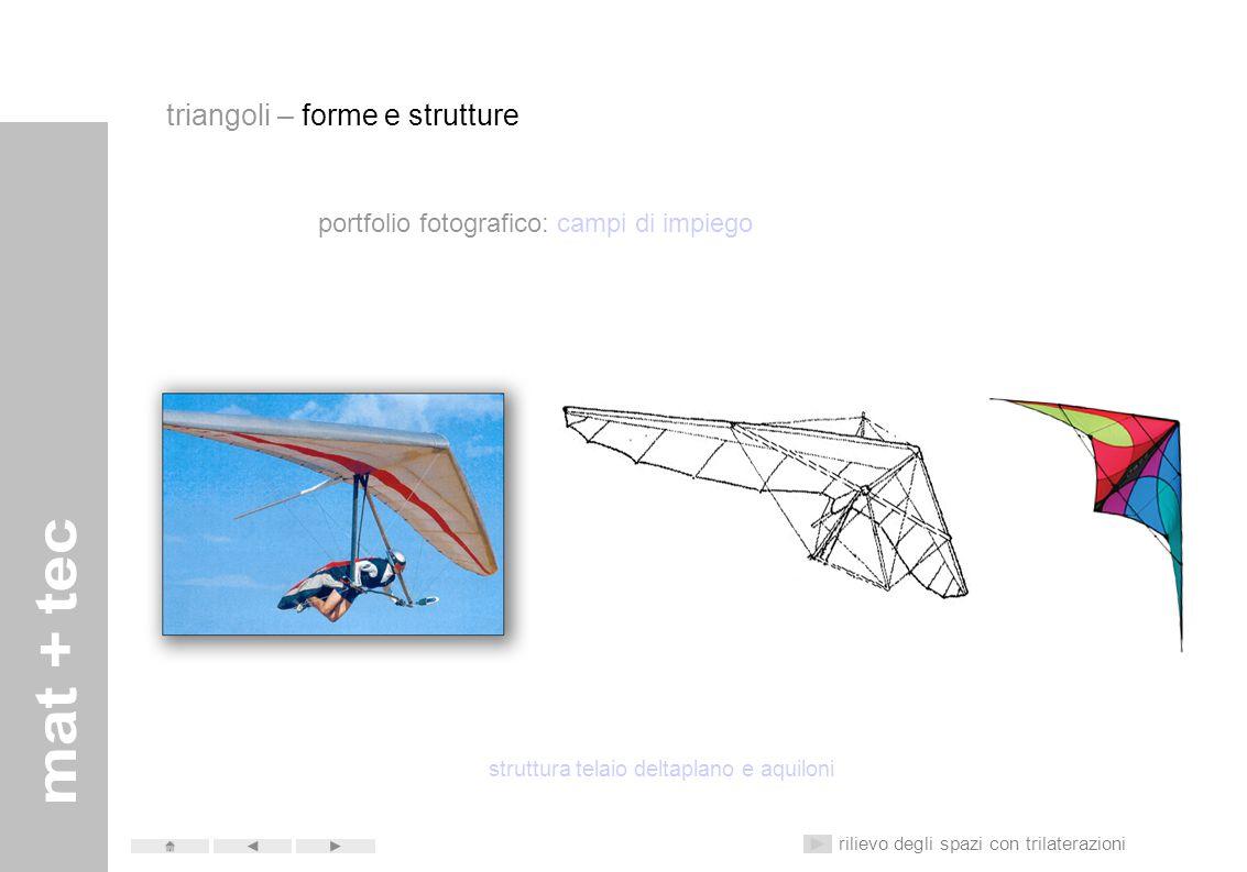 struttura telaio deltaplano e aquiloni