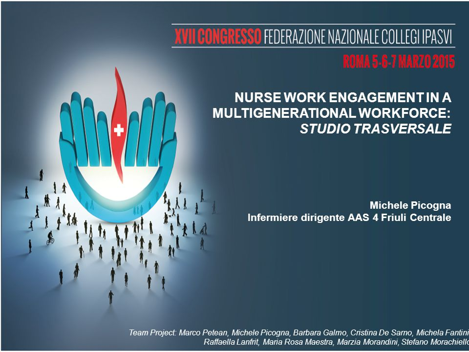 NURSE WORK ENGAGEMENT IN A MULTIGENERATIONAL WORKFORCE: