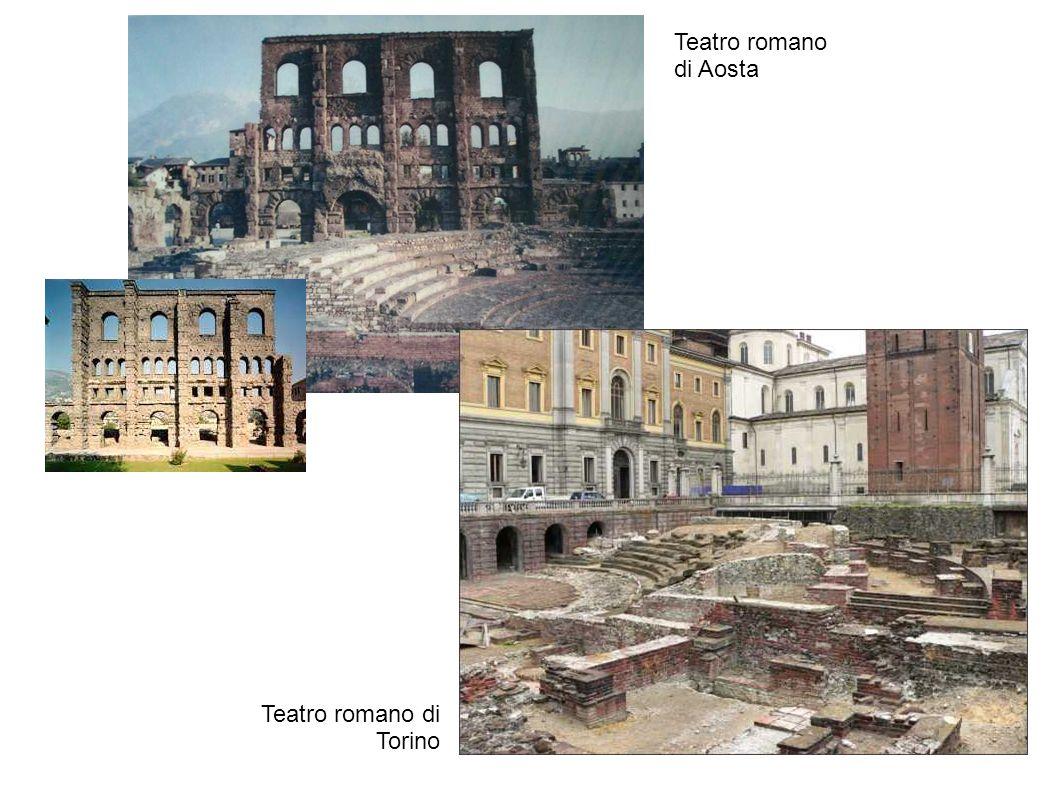 Teatro romano di Aosta Teatro romano di Torino