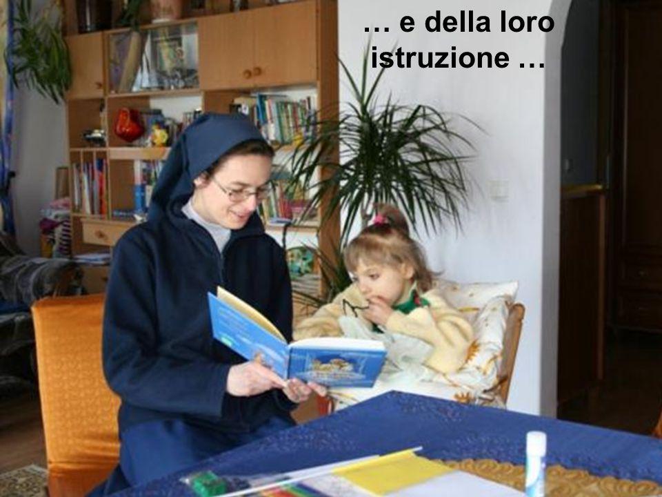 … e della loro istruzione …