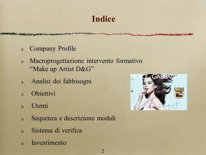 Indice Company Profile