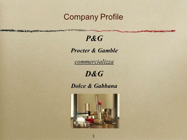 Company Profile P&G D&G Procter & Gamble commercializza