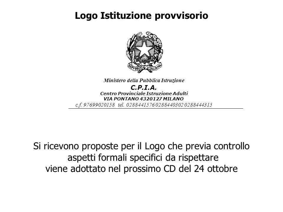 Logo Istituzione provvisorio