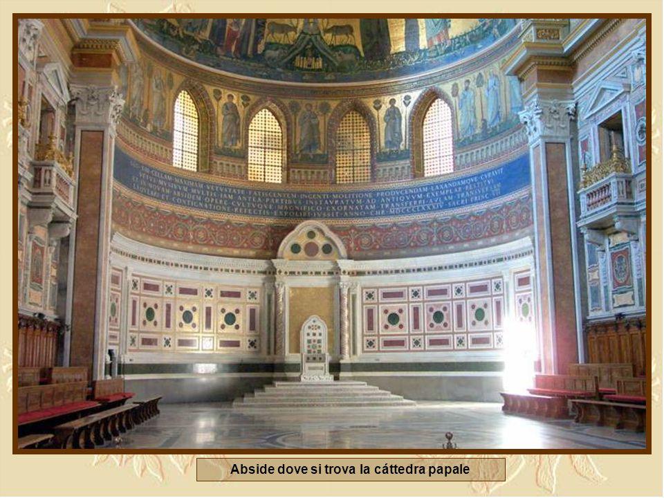Abside dove si trova la cáttedra papale
