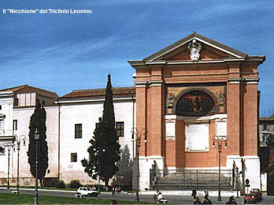 Il Nicchione del Triclinio Leonino.