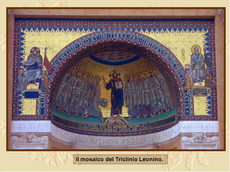 Il mosaico del Triclinio Leonino.