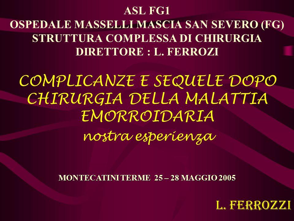 MONTECATINI TERME 25 – 28 MAGGIO 2005