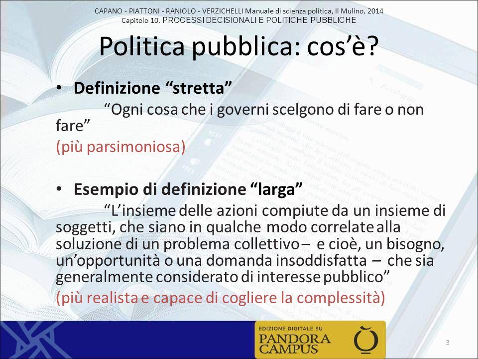 Politica pubblica: cos'è