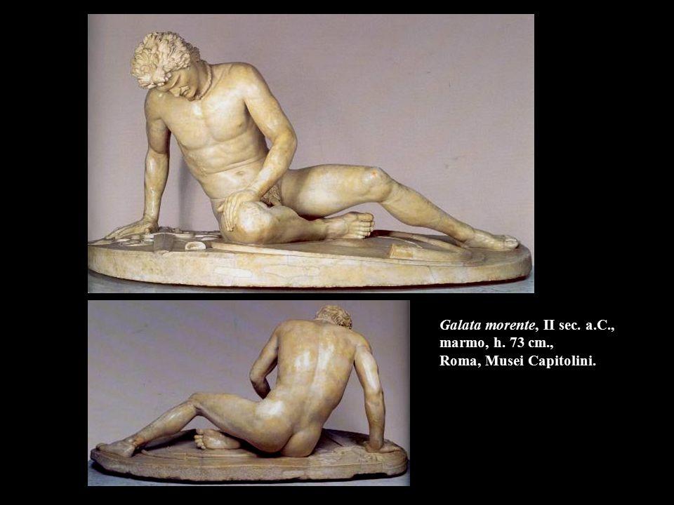 Galata morente, II sec. a. C. , marmo, h. 73 cm