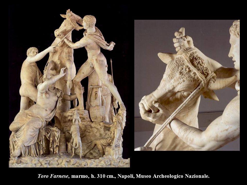 Toro Farnese, marmo, h. 310 cm., Napoli, Museo Archeologico Nazionale.