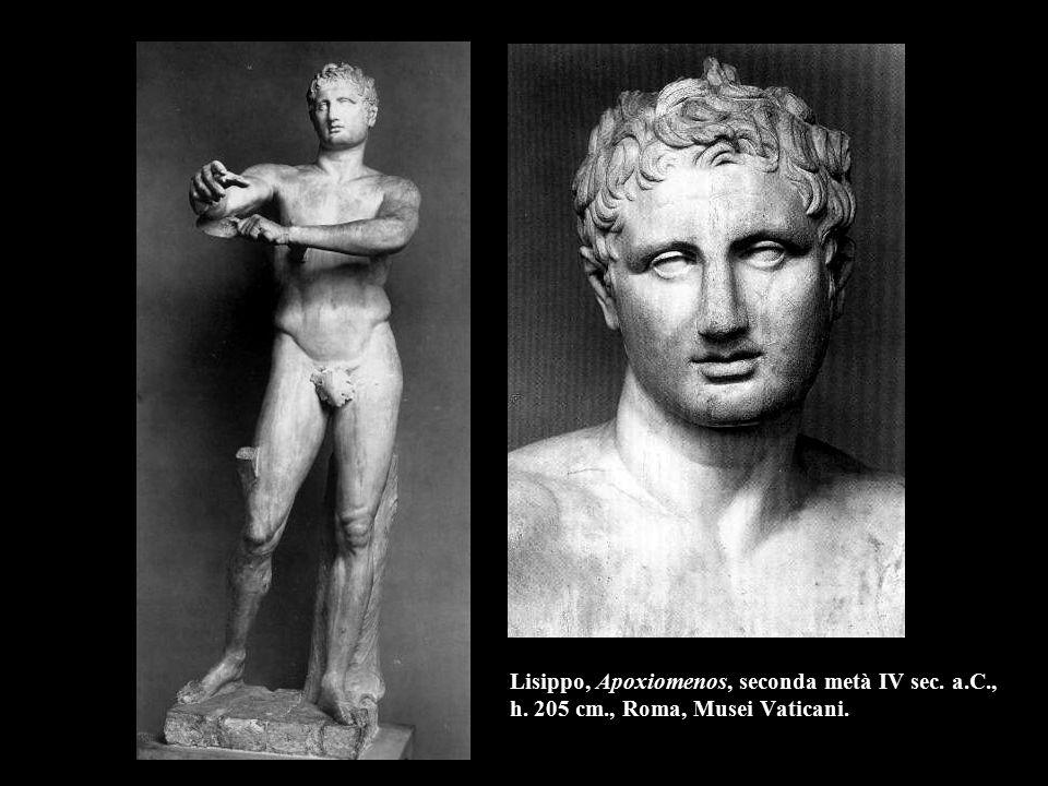 Lisippo, Apoxiomenos, seconda metà IV sec. a. C. , h. 205 cm