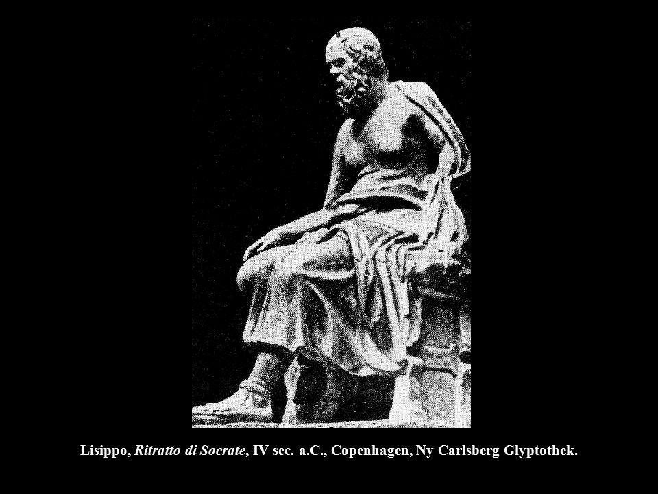 Lisippo, Ritratto di Socrate, IV sec. a. C
