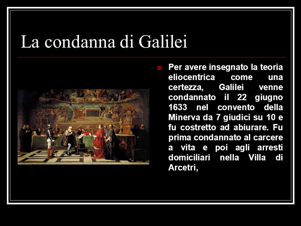 La condanna di Galilei