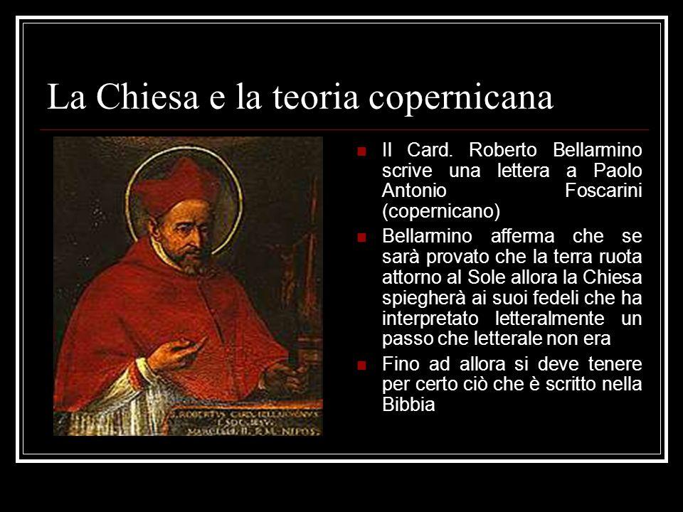 La Chiesa e la teoria copernicana