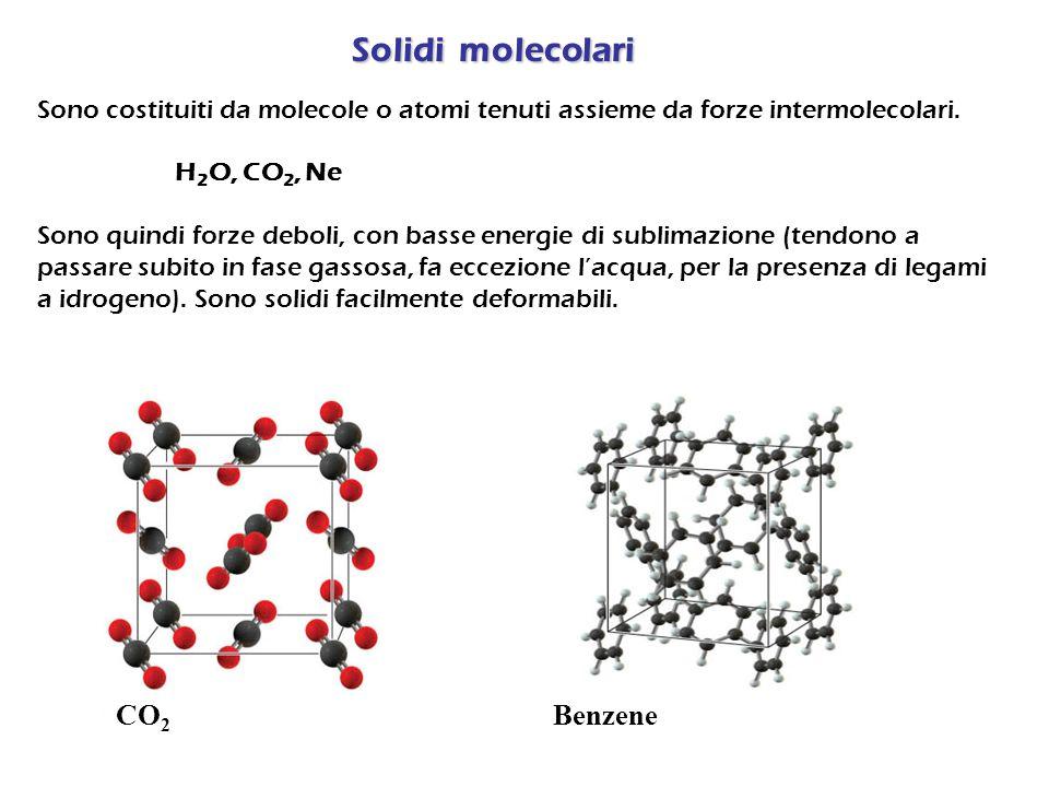 Solidi molecolari CO2 Benzene