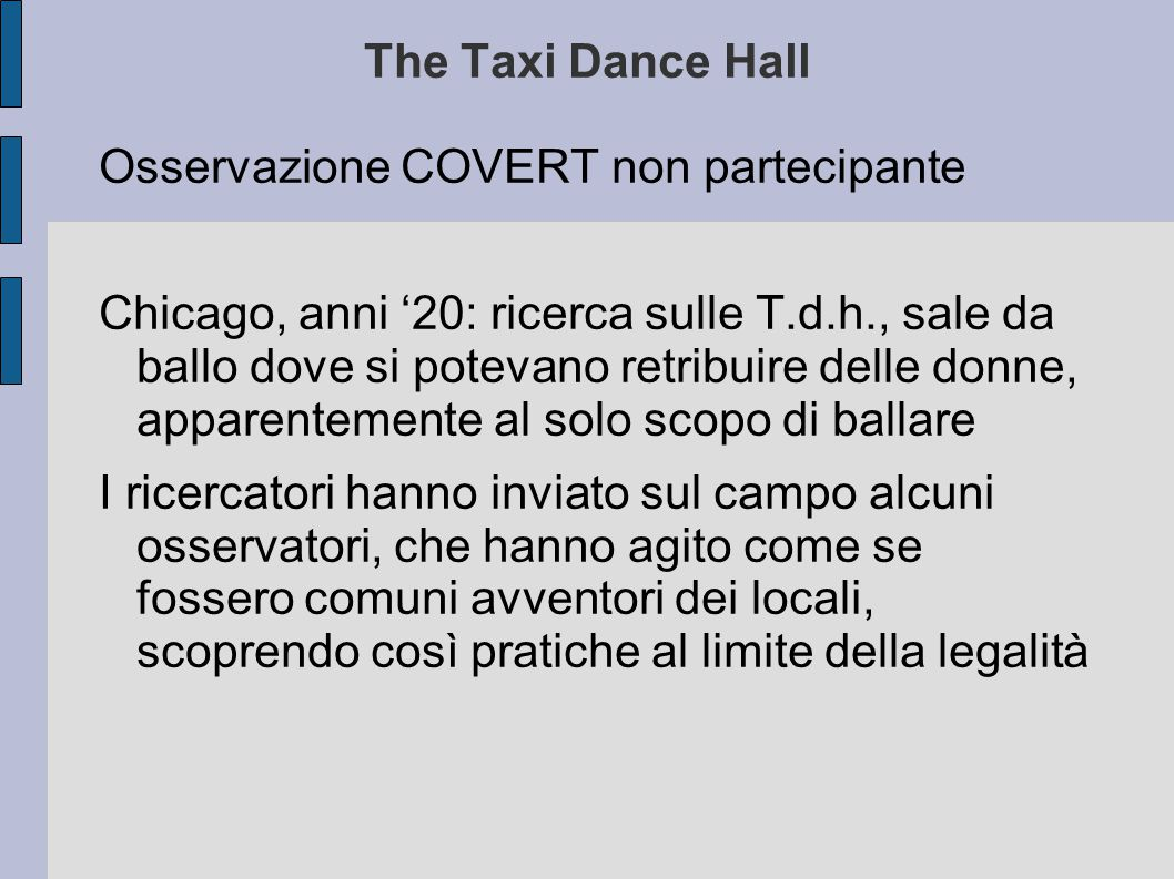 The Taxi Dance Hall