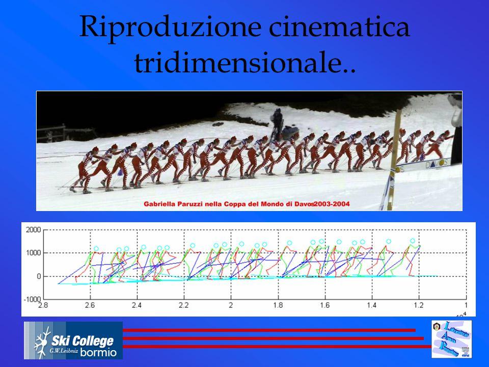 Riproduzione cinematica tridimensionale..