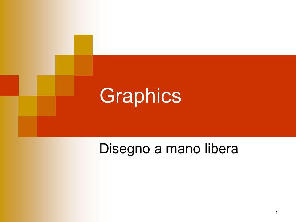 Graphics Disegno a mano libera