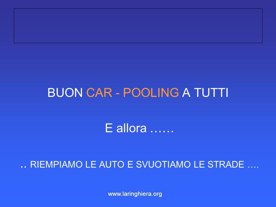 BUON CAR - POOLING A TUTTI