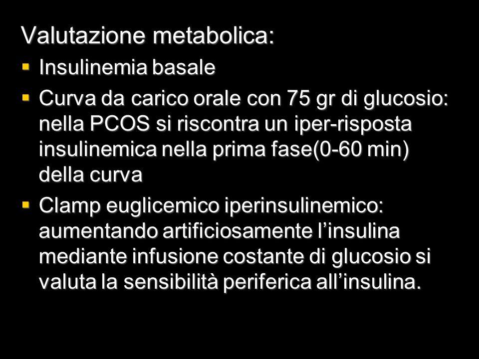 Valutazione metabolica: