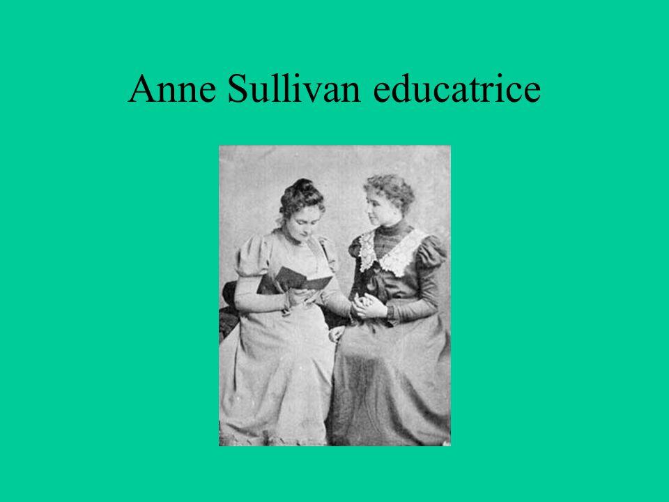 Anne Sullivan educatrice
