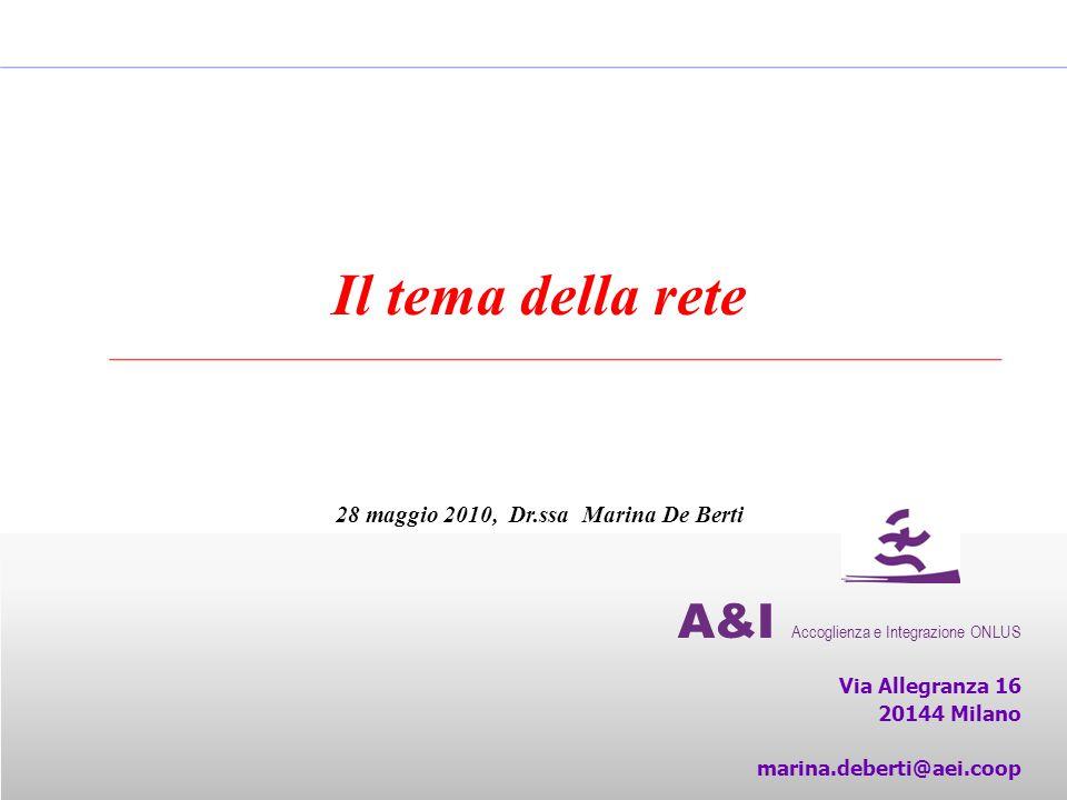 28 maggio 2010, Dr.ssa Marina De Berti