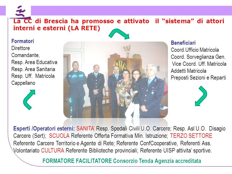 FORMATORE FACILITATORE Consorzio Tenda Agenzia accreditata
