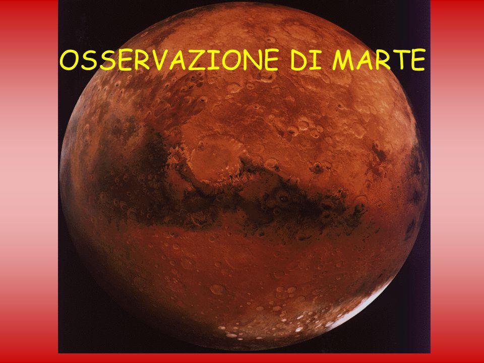 OSSERVAZIONE DI MARTE