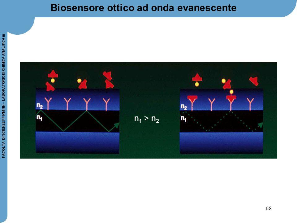 Biosensore ottico ad onda evanescente