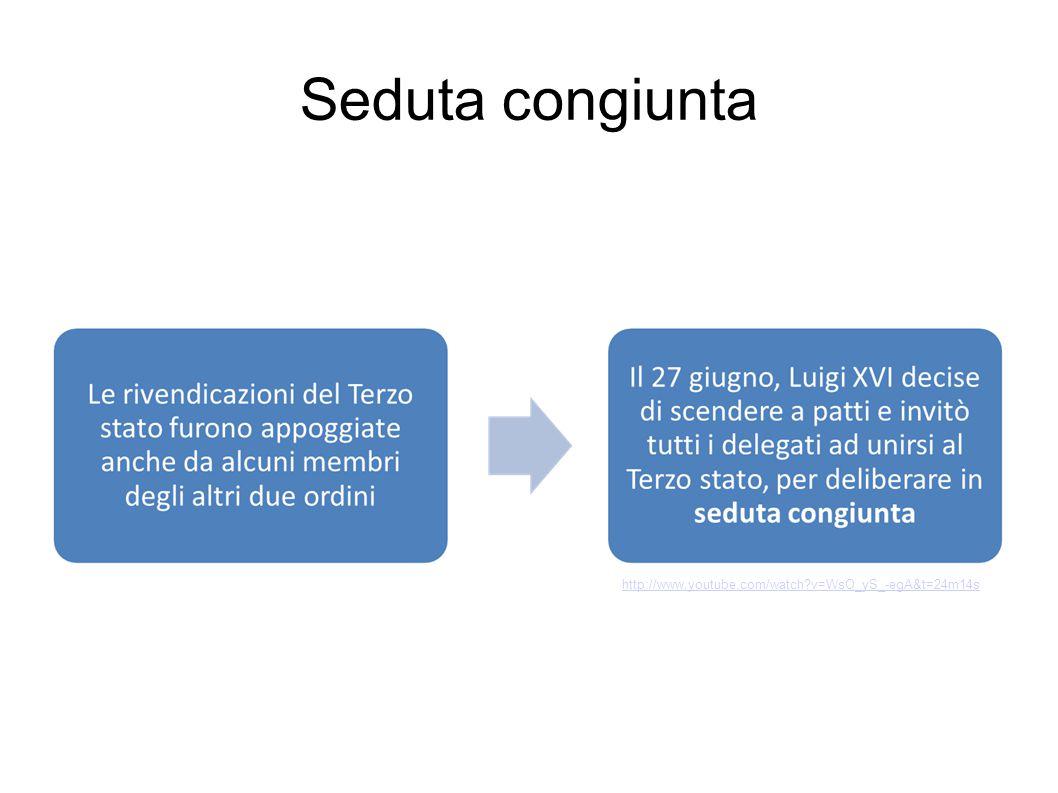 Seduta congiunta http://www.youtube.com/watch v=WsO_yS_-egA&t=24m14s