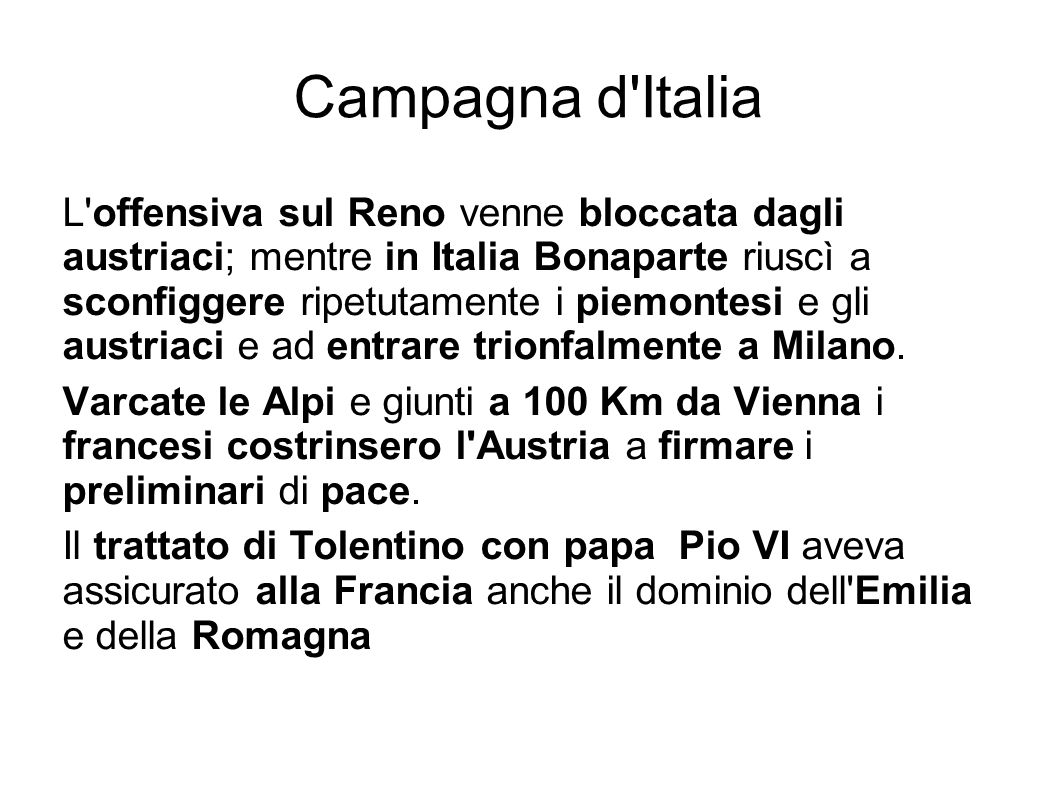 Campagna d Italia