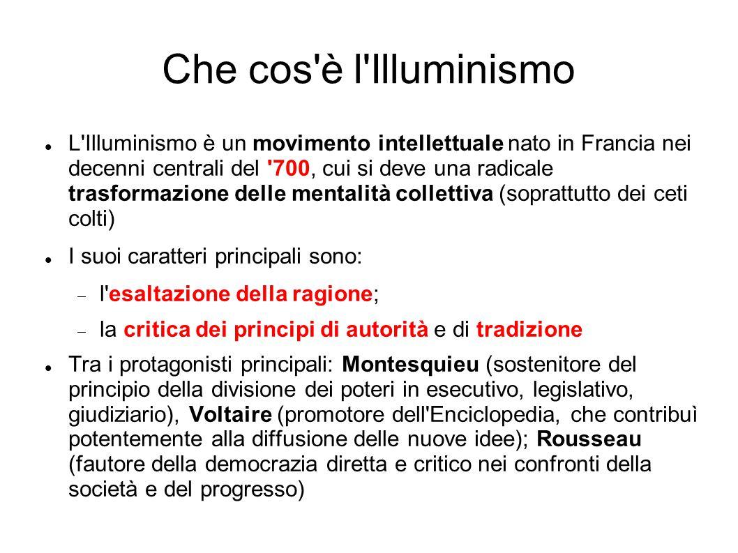 Che cos è l Illuminismo