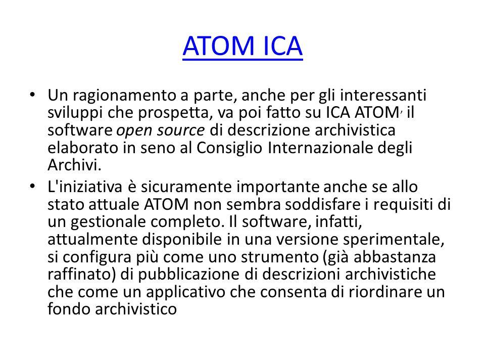 ATOM ICA