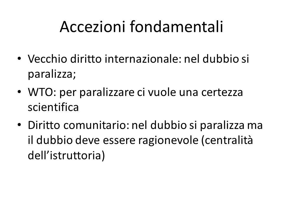 Accezioni fondamentali