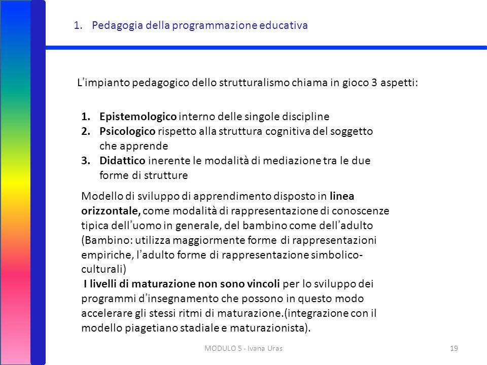 Pedagogia della programmazione educativa